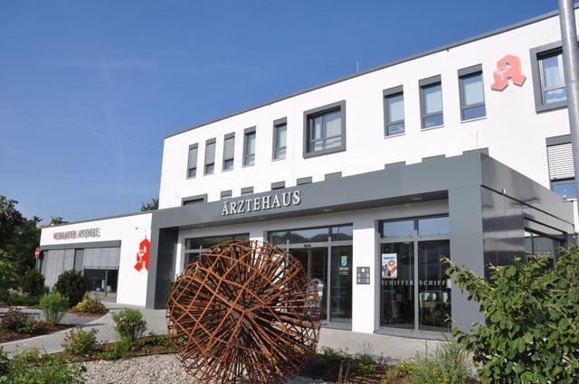 Zahnarztpraxis Dr. & Dr. Krombholz im Ärztehaus in Dettelbach