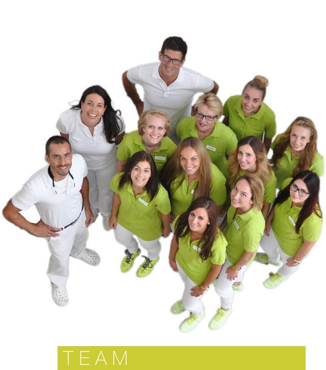 Das Team der Zahnarztpraxis Krombholz in Dettelbach